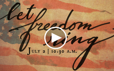 Let Freedom Ring: In God We Trust