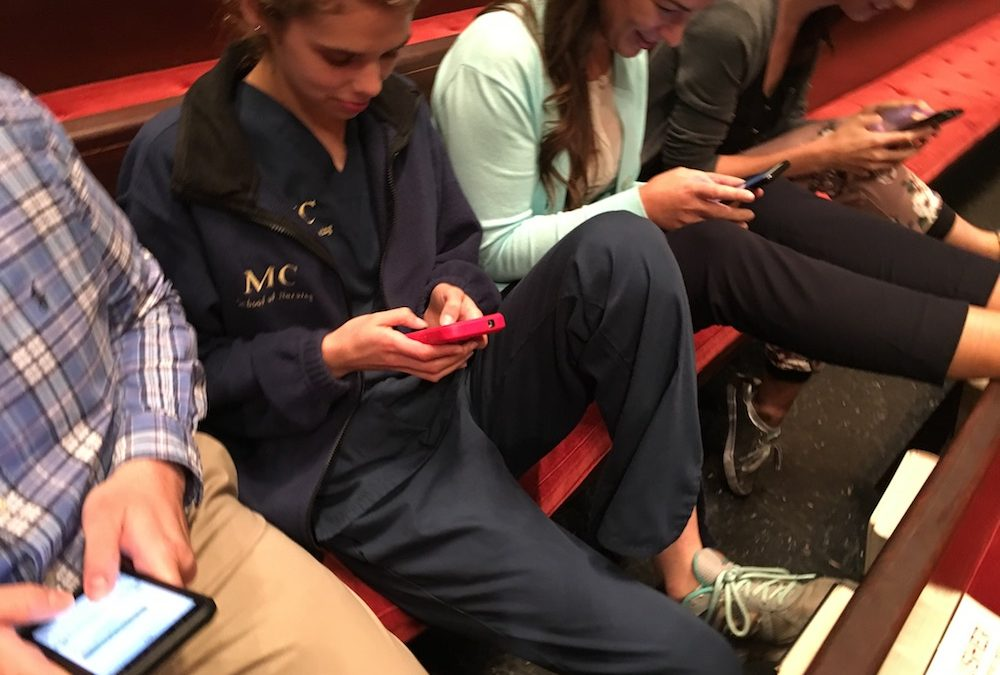 Texting from the Pew