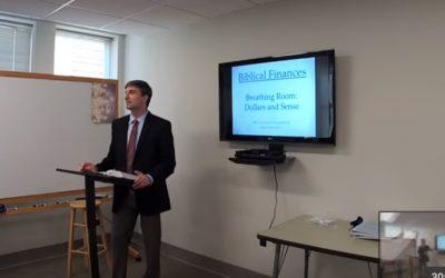 Biblical Finances, Breathing Room: Dollars and Sense