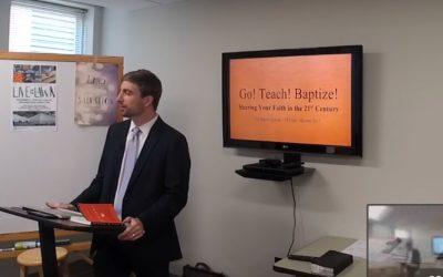 Go! Teach! Baptize!