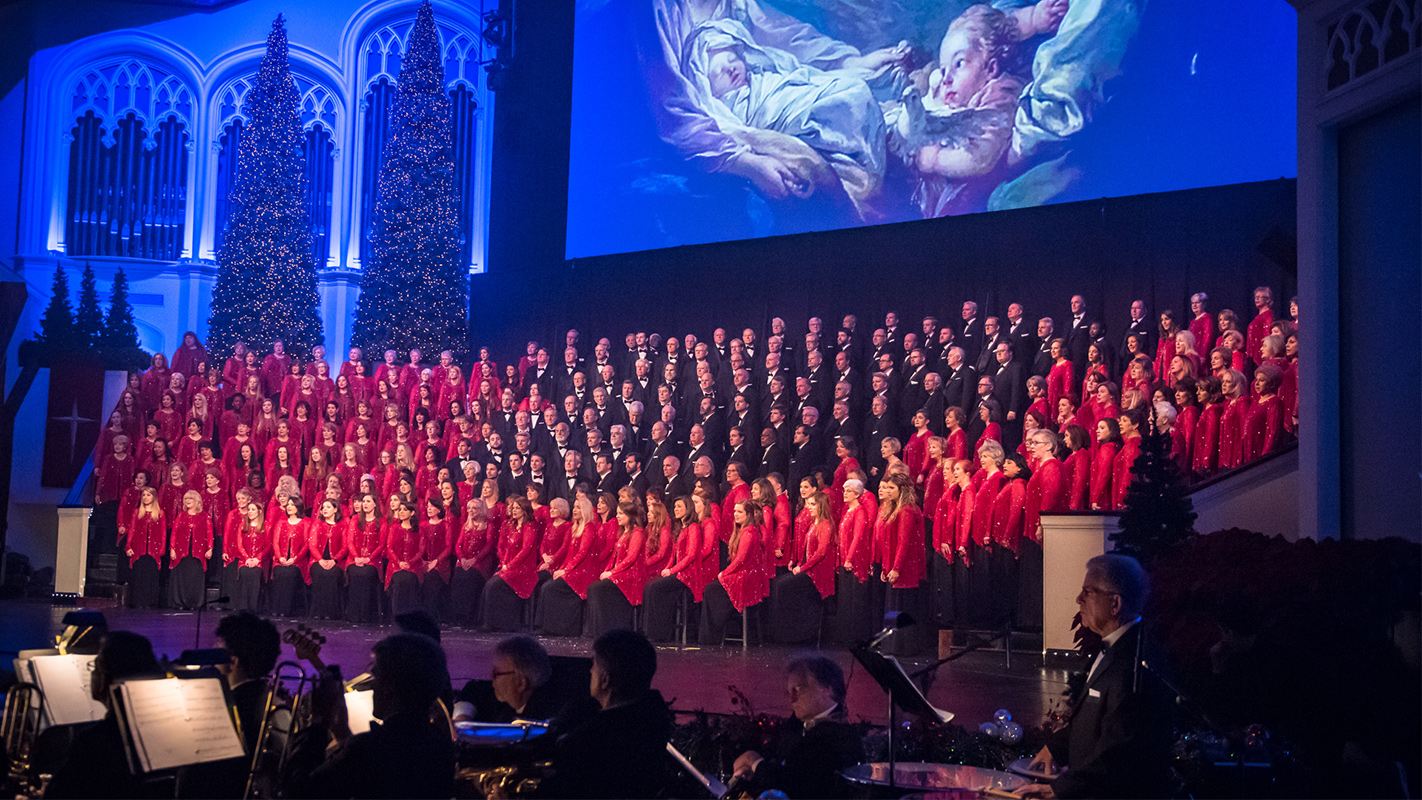 Carols By Candlelight at First Baptist Jackson