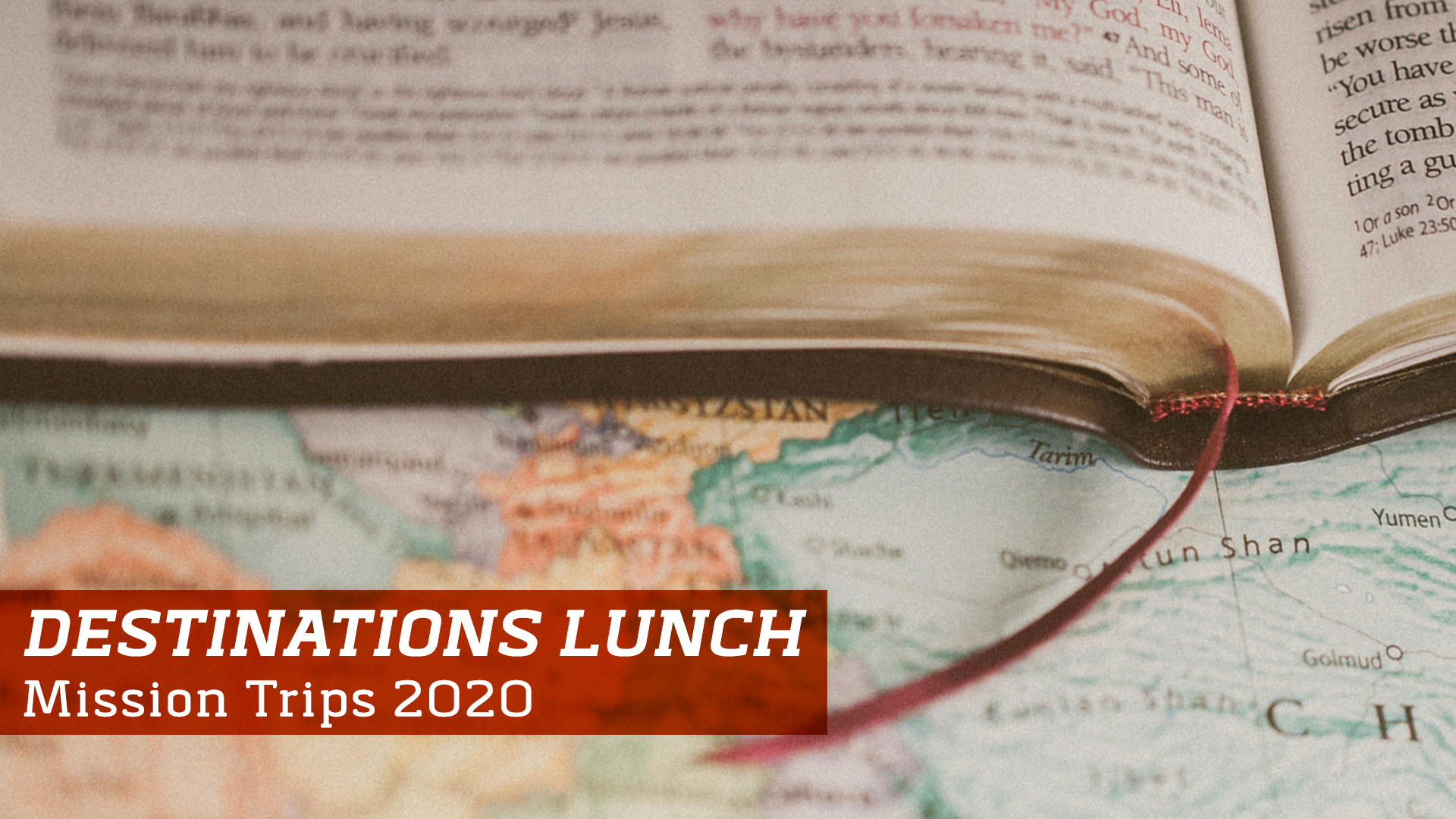 Destinations Lunch | First Baptist Jackson | January 26, 2020