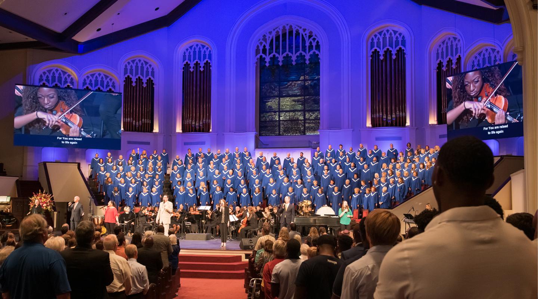 First Baptist Jackson Worship Service